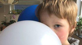 Vilmer och ballong